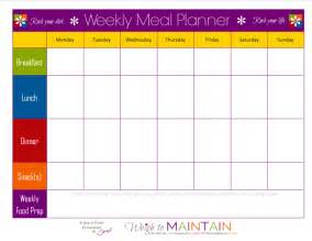 free printable diet plans picture 15