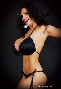 denise milani breast morph picture 9