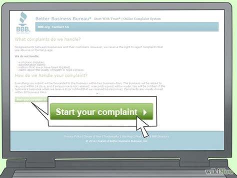 file complaint online business picture 6