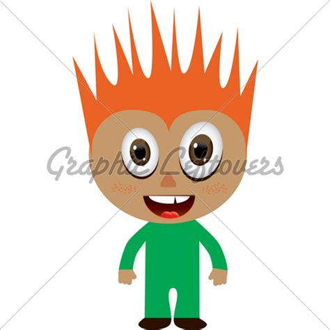 red hair cartoon boys picture 10