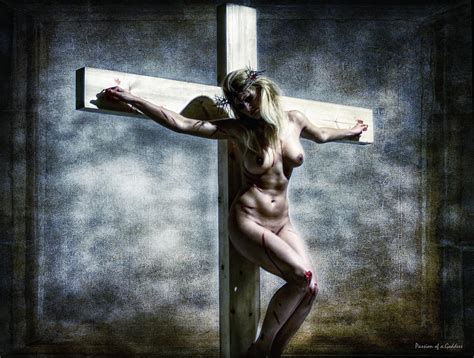 women crucified picture 7