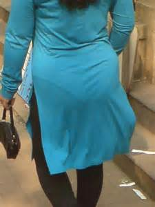 pak hot aunties homely dress panty line visible picture 1