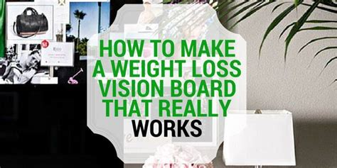 weight loss vision board picture 6
