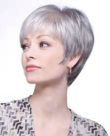 best hairstyles for grey hair picture 1