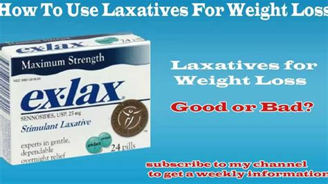 laxatives for weight loss picture 1