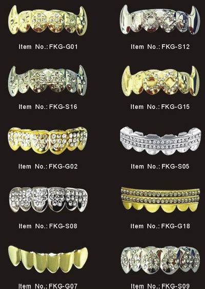 all kinds of teeth grillz and i want picture 3