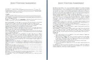 free joint venture contract picture 1