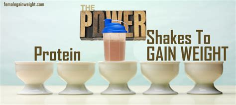 do protein shakes help you gain weight picture 4