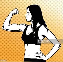 cartoon muscles women picture 18