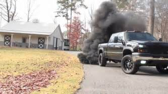 6.6 duramax blows blue smoke picture 2