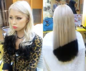 crazy black and blonde hair picture 6