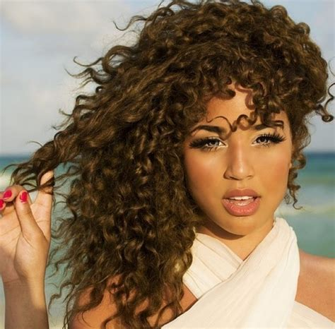 curly hair models picture 13