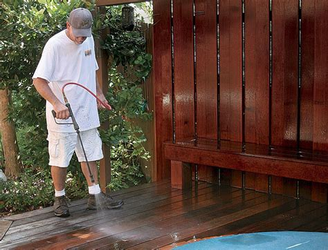 use a deck brightener after sanding picture 1