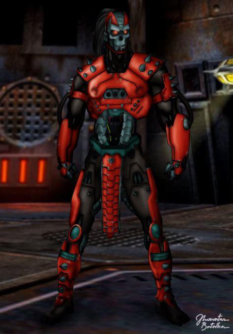 mortal kombat armageddon character info. human smoke picture 18