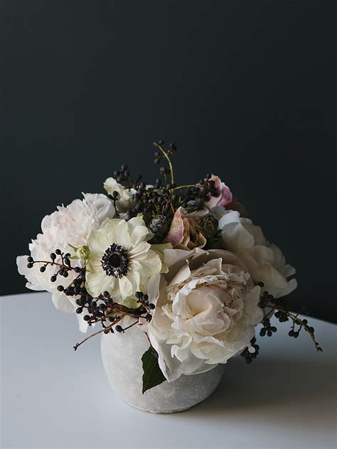 flower arrangment in a bowel picture 7