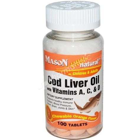 cod liver oil chewable pill picture 6