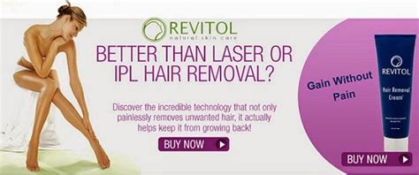 can revitol hair removal cream be used with picture 5