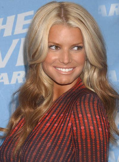 Jessica simpson red hair picture 5