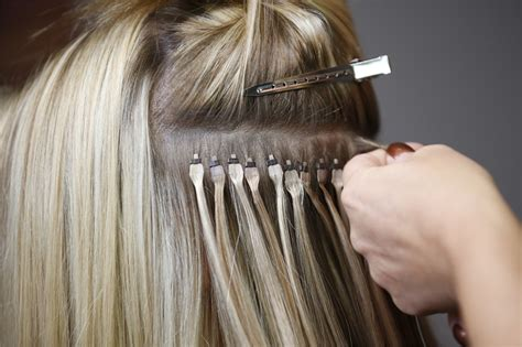 flat tip hair extensions picture 1