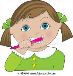 brushing h clipart picture 9