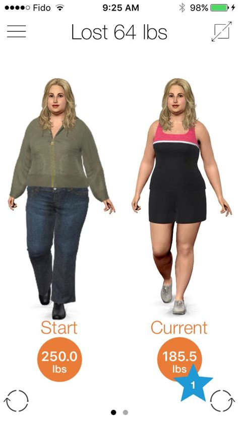 virtual weight loss avatars picture 1
