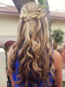 wedding hair half up half down formal picture 7