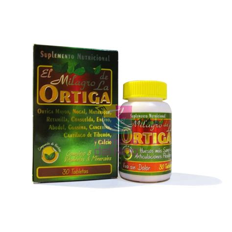 ortiga dietary supplement from mexico picture 3
