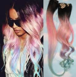 can hair extension be colored dyed picture 1