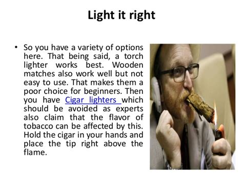 proper way to smoke a cigar picture 4