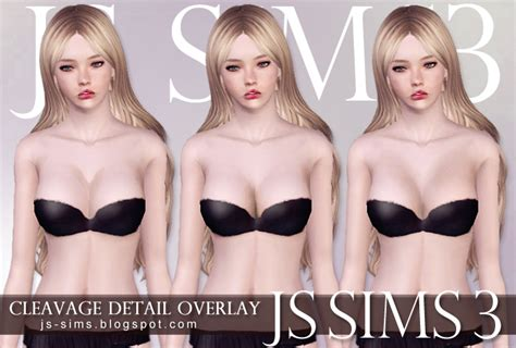 sims cleavage skin picture 6