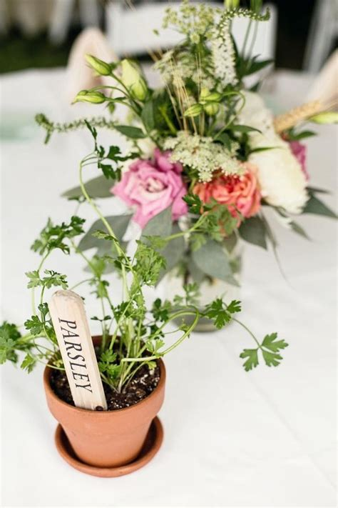 Table centerpieces herbal picture 10