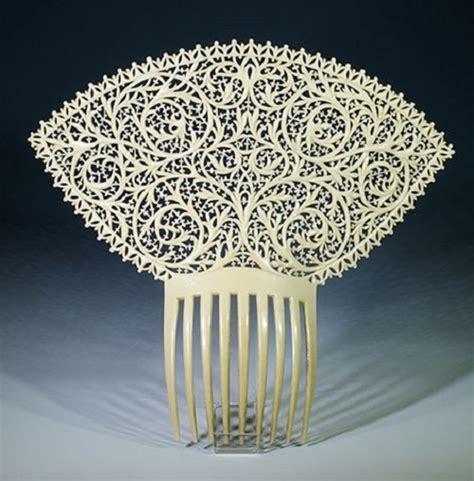 spanish mantilla wedding hair combs picture 1