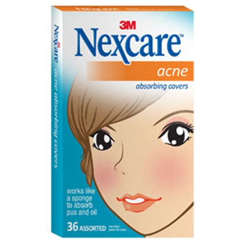 nexcare acne cover, drug-free, gentle, breathable cover, 36 count picture 2