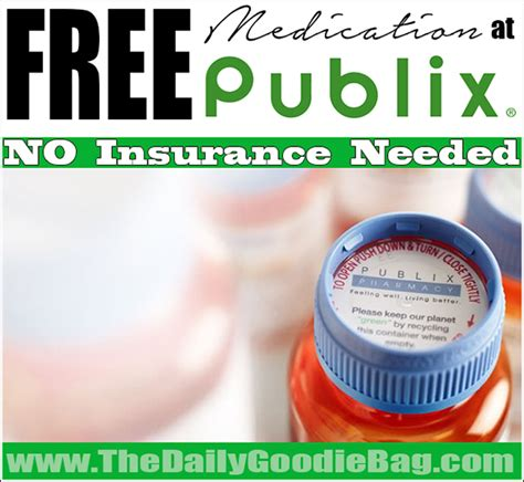 information on free medications from publix picture 1