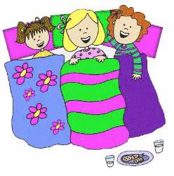 clip art with sleep over partys picture 10