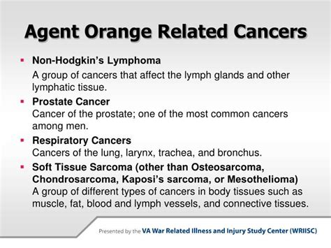 va health on agent orange and prostate cancer picture 2