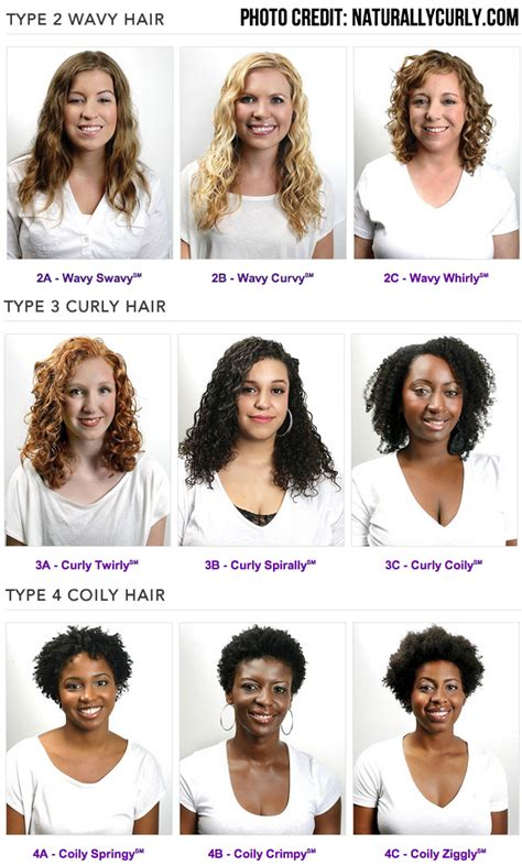 curly hair types picture 1