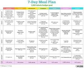 free weight loss meal planning picture 6