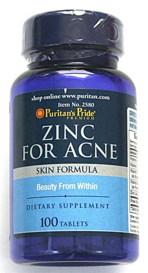 zinc acne picture 1