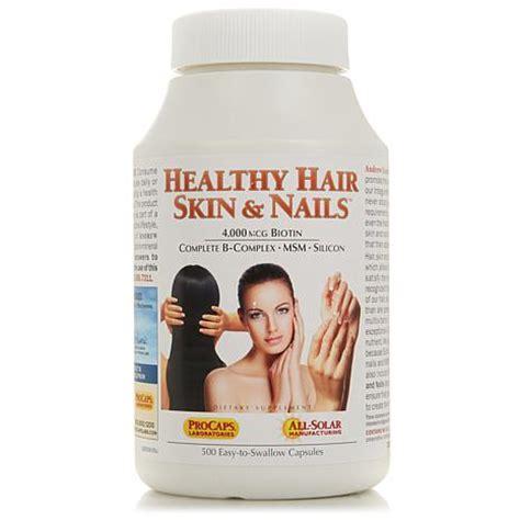 health skin hair nails vitamins picture 1