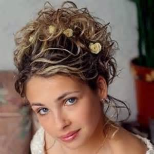 hair styles for weddings curly picture 15