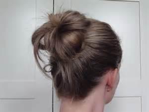 hair bun picture 14
