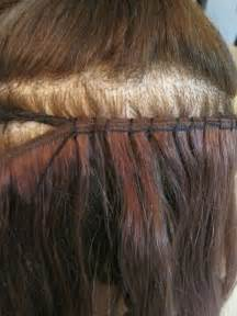 flat hair weave technique picture 9