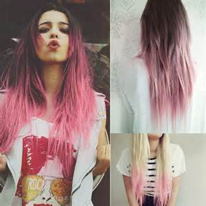 pink hair dye picture 11