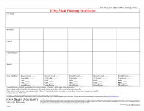 diet plan worksheets picture 10
