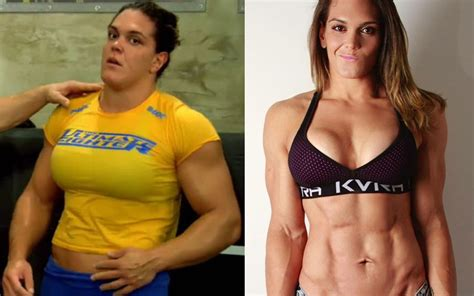 very muscular women wrestling picture 17
