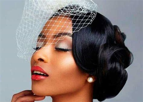 bridal hairstyles for black hair picture 2
