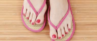 clear feet nails picture 13