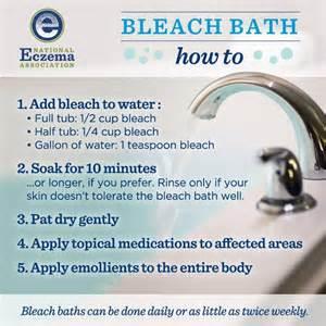 a person that takes bleach bath does bleach picture 1