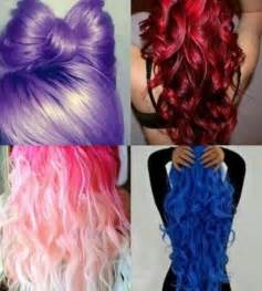colored hair picture 11